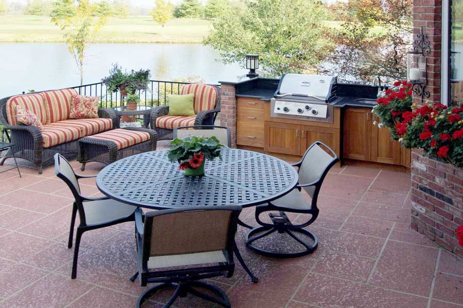 Outdoor kitchen by Atlantis