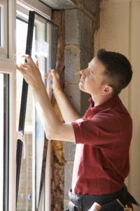 man replacing windows, Johnson Lumber, Millersville window and lumber
