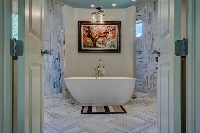 A new bathroom