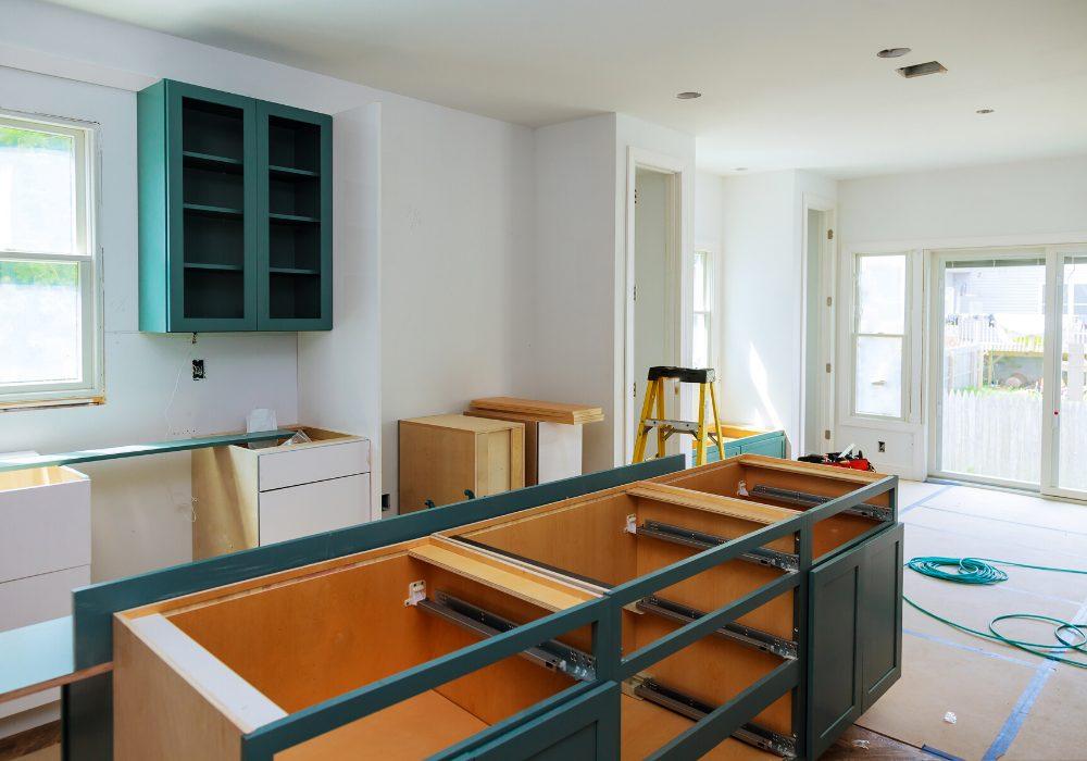 prep for kitchen remodel