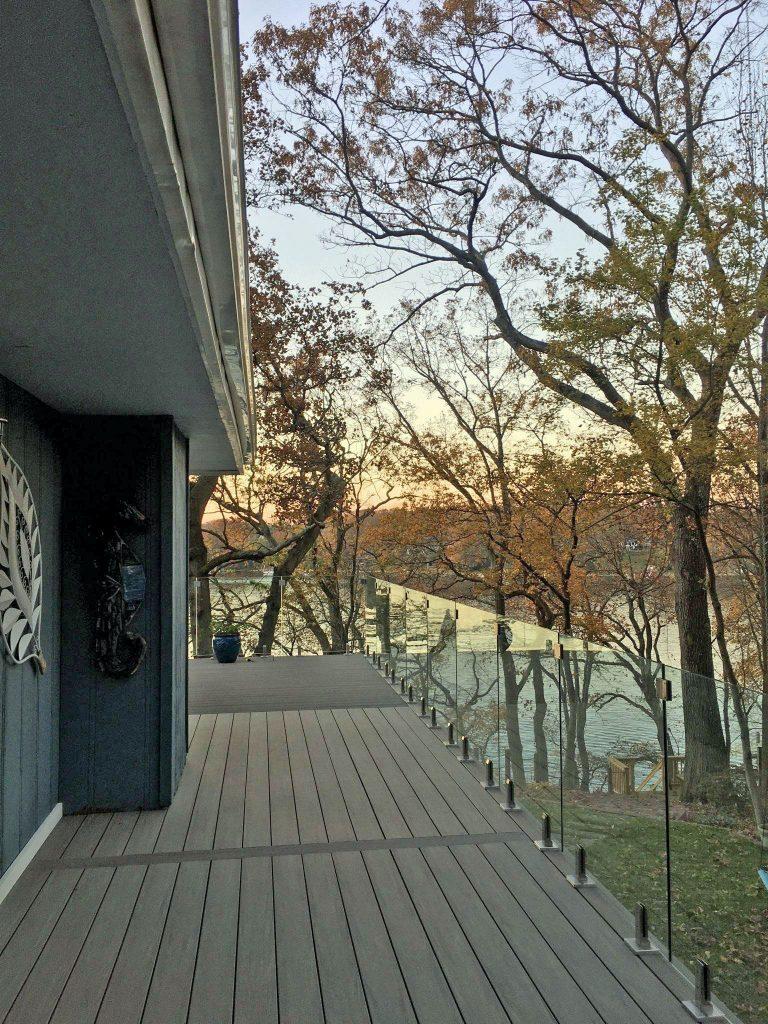 new Azek balcony deck install, Johnson Lumber, Anne Arundel, MD Lumber, Millwork, & Builders' Materials