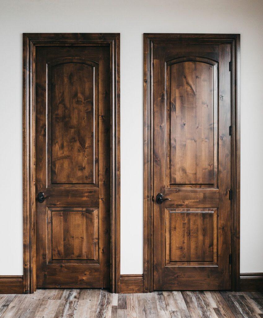 Woodgrain interior doors, Johnson Lumber